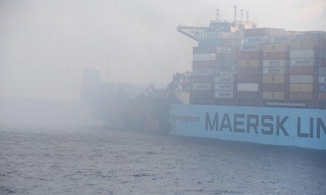 Maersk Honam viaje 806W Fuego a bordo – General Average (GA) / Avería Gruesa