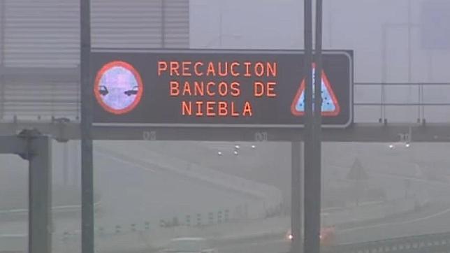 Precaución en carretera: Bancos de niebla